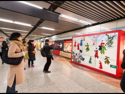 KFC & National Museum of China bring exhibits to the metro of Shanghai | STDecaux