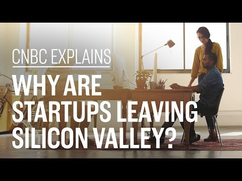 Why are startups leaving Silicon Valley?