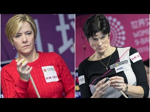 2016 Women 9-Ball World Championship 女子世錦賽 | Allison Fisher Vs Karen Corr