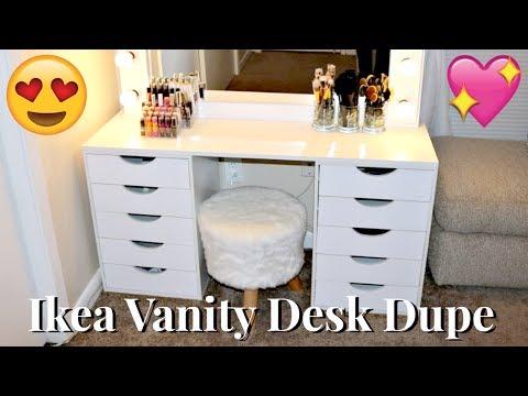 DIY Ikea Vanity Dupe | $100