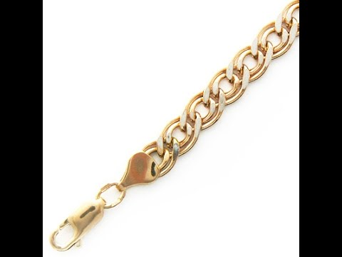 самое надежное плетение золотых цепочек - YouTube