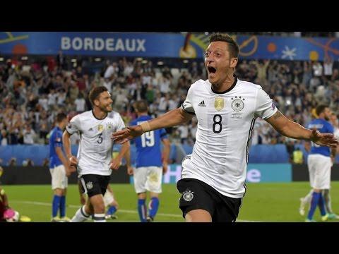 GERMANY – ITALY – UEFA EURO 2016 – 1-0 MESUT OZIL scored the game 's opener