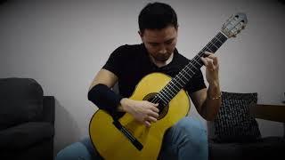 J.S. Bach - BWV 998, Prelude, Fugue and Allegro - Guitar - Arturo Vera