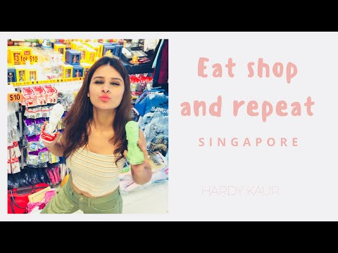 FROM LITTLE INDIA TO BUGIS STREET IN SINGAPORE || SINGAPORE TRAVEL DAIRY || HARDY KAUR
