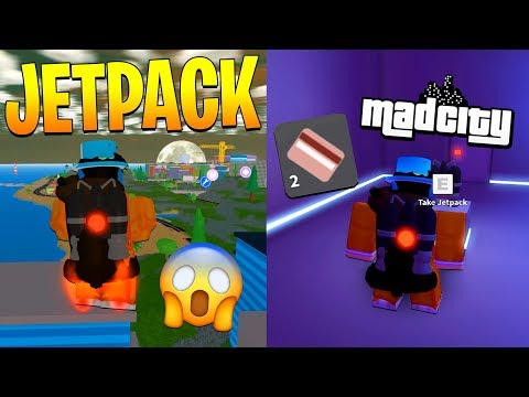 HOW TO GET THE JETPACK IN MAD CITY FOR FREE! (Roblox)