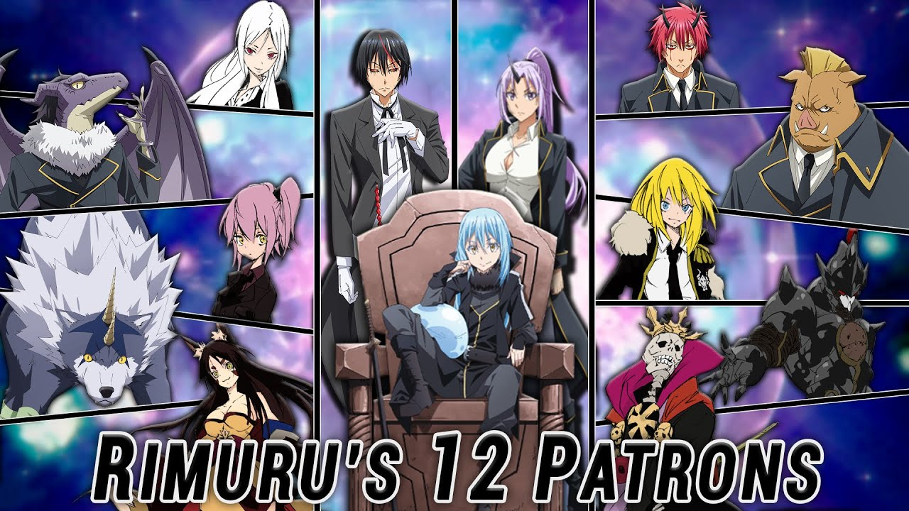 Rimuru's twelve guardian lords 聖魔 (リムル) 十二守護王, seima (rimuru) juuni shugo ou are the top 12 executives of rimuru tempest.they are those subordinates who have been awakened as true demon lords and have been bestowed a title of a lord.. Rimuru S Twelve Guardian Lords True Demon Lords Light Novel Spoilers Tensura Explained Youtube
