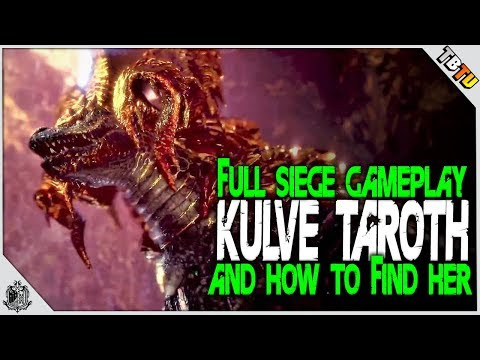 FIRST FULL KULVE TAROTH SIEGE and HOW TO FIND HER! Monster Hunter World EVENT DLC