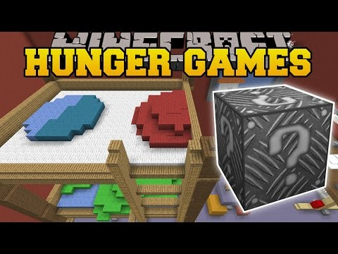 Minecraft: PILLOW FIGHT HUNGER GAMES - Lucky Block Mod - Modded Mini-Game