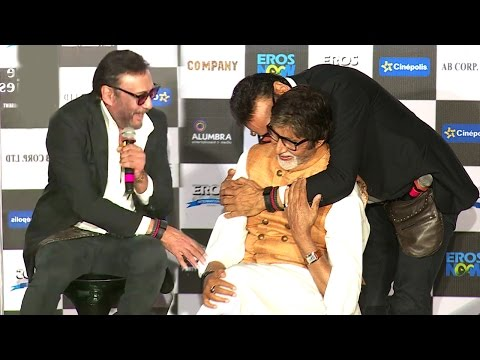 Jackie Shroff & Amitabh Bachchan's FUNNY Moments At Sarkar 3 Trailer Launch