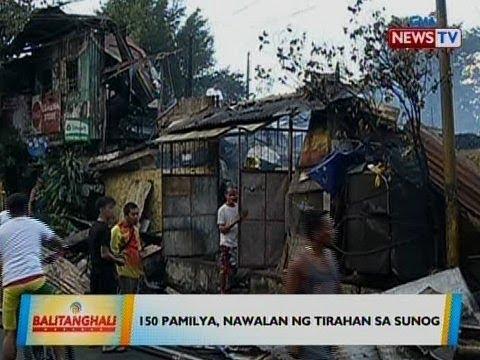 BT: 150 pamilya, nawalan ng tirahan sa sunog sa Mandaluyong
