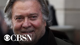 January 6 committee votes to hold Steven Bannon in criminal contempt for defying subpoena