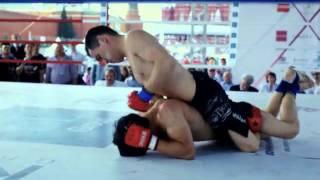 mma vadim buseev /buryat mongol-black short/ vs asu almabaev /kazakh-red short/