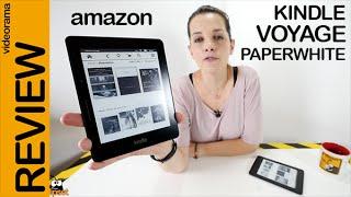 Amazon Kindle Voyage y Paperwhite 3 review en español