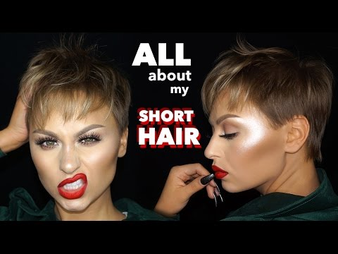 All About My Short Hair The Best Products For A Pixie Cut