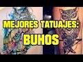 Tatuajes de búhos Completamente increibles
