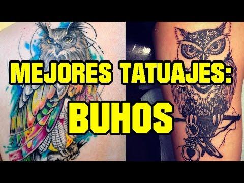 Tatuajes De Búhos Completamente Increibles Youtube