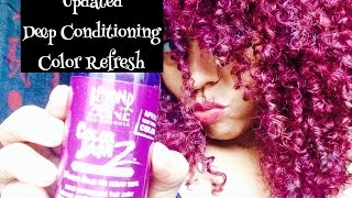 Natural Hair| Updated Deep Conditioning Color Method