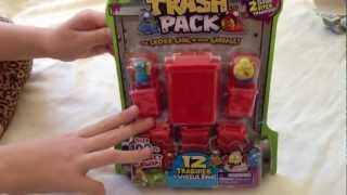 Trash Pack Series 4 Unbox (blue gutterfly/yellow Poo-tato)