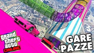 Gta 5 ITA - Gare Pazze - Tubi e rampe di tutti i colori!