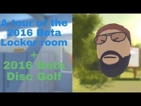 A tour of the beta 2016 Locker room and beta Disc Golf | Rec Room Preservation Project