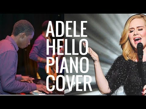 Adele Hello A cappella Piano cover - Music Jailbreak's Celebrity A cappella series