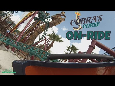 Cobras Curse On-ride Back Seat (HD POV) Busch Gardens Tampa Bay