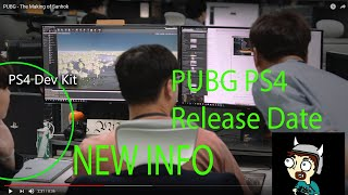 PUBG PS4 RELEASE DATE, INFO, CONFIRMED LEAKED SCREENSHOT!! NEW INFO!!