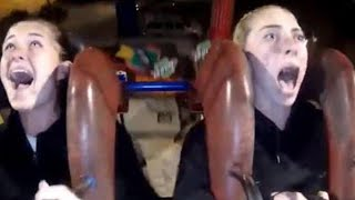 Watch Soccer Player Scream in Terror on Human Slingshot Ride thumbnail