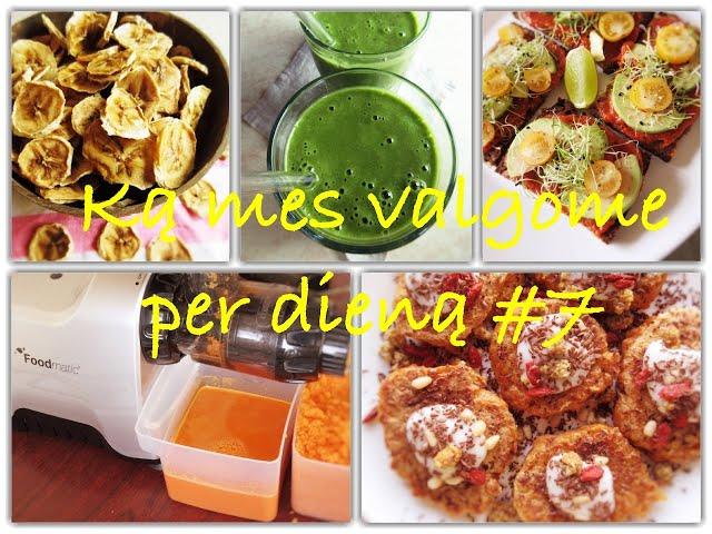 Vegan Pipiras - Ką mes valgome per dieną Nr. 7