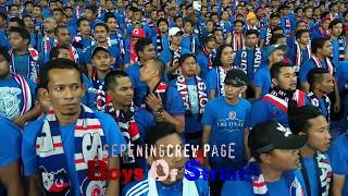 45k Ultras BOS and JDT fans all do Chant plus the Poznan Oppo PM 2014 at SBJ