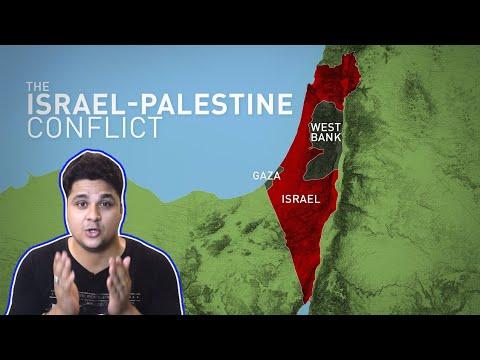 [Hindi]The Israel - Palestine Conflict, Status Of Jerusalem