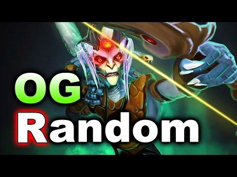 OG vs Team Random - KIEV Major Mid Groups DOTA 2