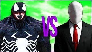 СЛЕНДЕРМЕН VS ВЕНОМ | СУПЕР РЭП БИТВА | Slenderman horror игра ПРОТИВ Venom movie фильм