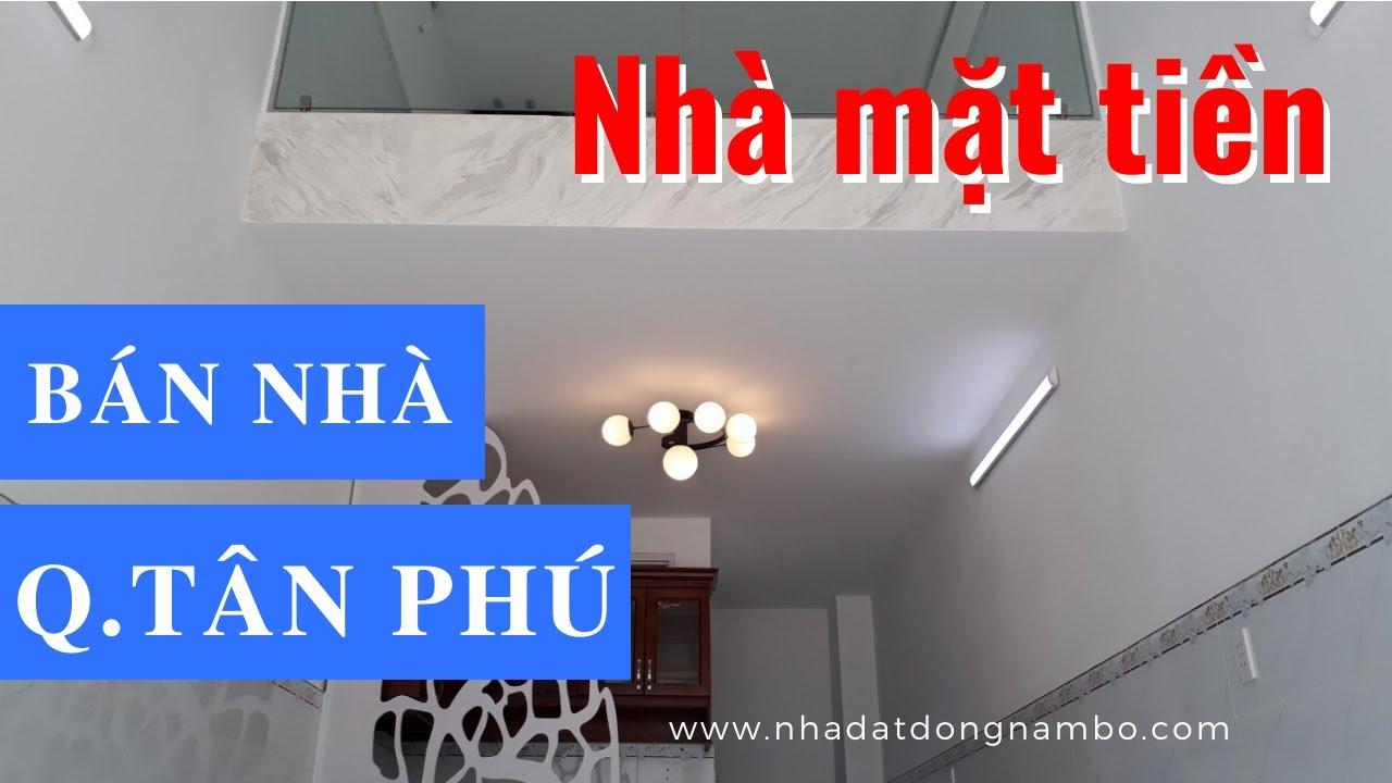 Bán Nhà Quận Tân Phú Dưới 5 Tỷ, Mặt Tiền Đường Nguyễn Thái Học, Phường Tân Thành – ĐÃ BÁN