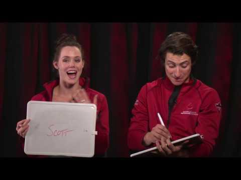 Newlywed Game: Tessa Virtue / Scott Moir