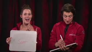 Newlywed Game: Tessa Virtue / Scott Moir