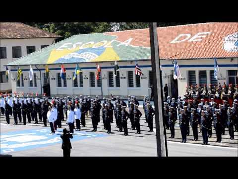 Hino da Academia de Policia Militar do Barro Branco - Aspirantes 2013
