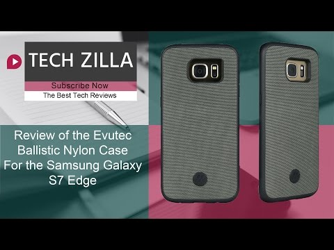 Evutec Ballistic Nylon Case for the Samsung Galaxy S7 Edge