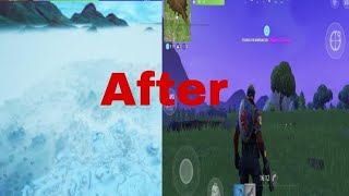 How to get rid of fog in fortnite!!!
