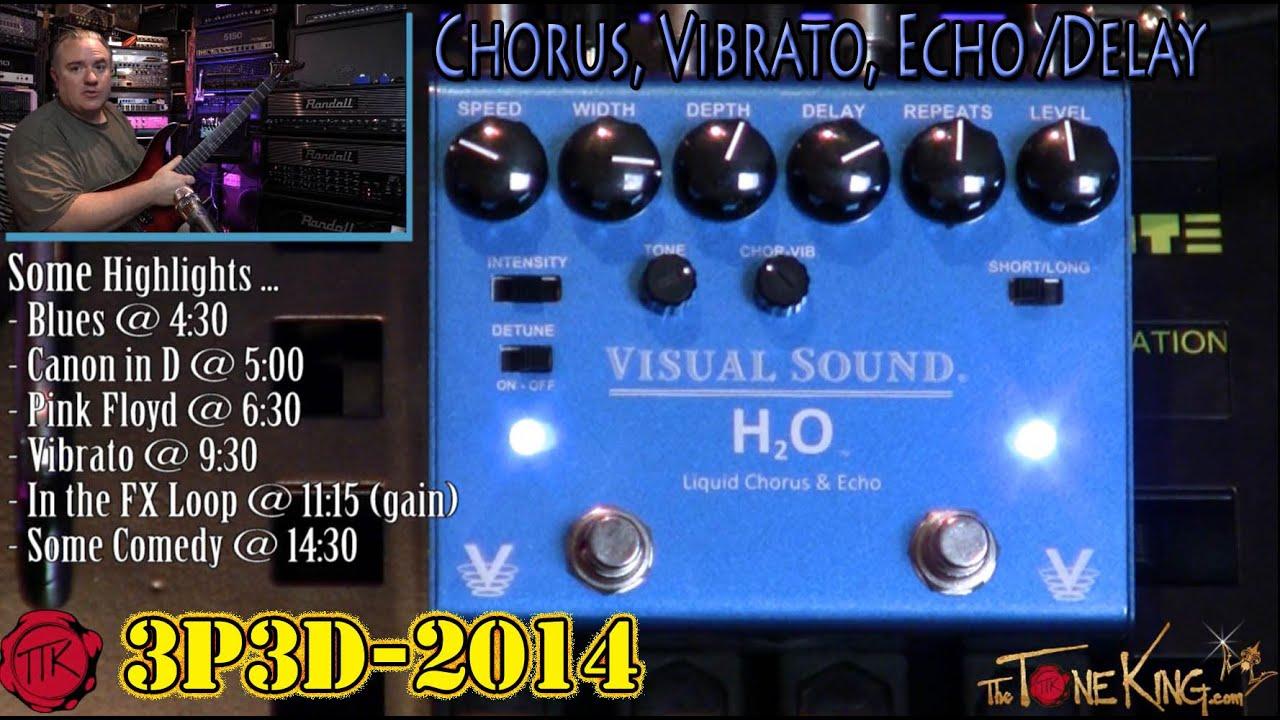tone rich visual sound h2o liquid chorus echo v3 3p3d 39 14 youtube. Black Bedroom Furniture Sets. Home Design Ideas