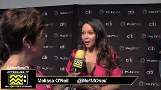 """Gambar cover Melissa O'Neil at PaleyFest for """"The Rookie"""""""