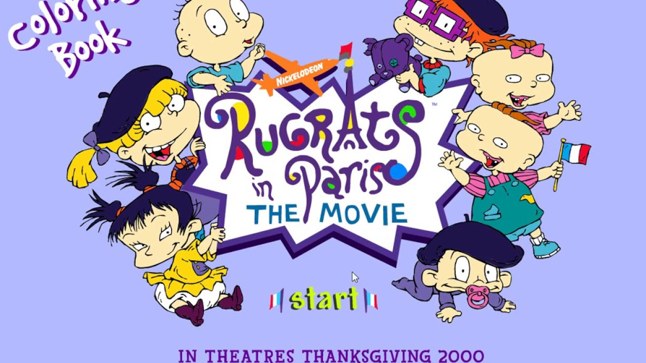 Rugrats In Paris Coloring Pages | Coloring Pages