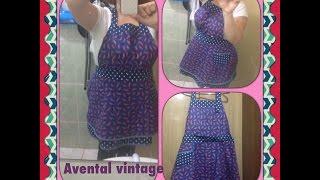 Avental vintage