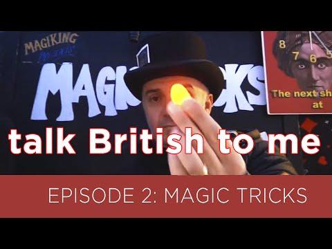 TALK BRITISH TO ME #2 - Tricks in Camden Town