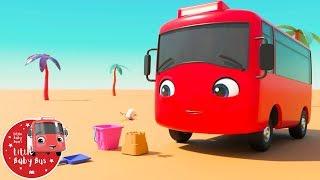 Little Baby Bus - Building Sandcastles   Kids Cartoons   Children's Stories