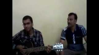 Ala-barfi venkat-roshan-abhishek on guitar.mpg