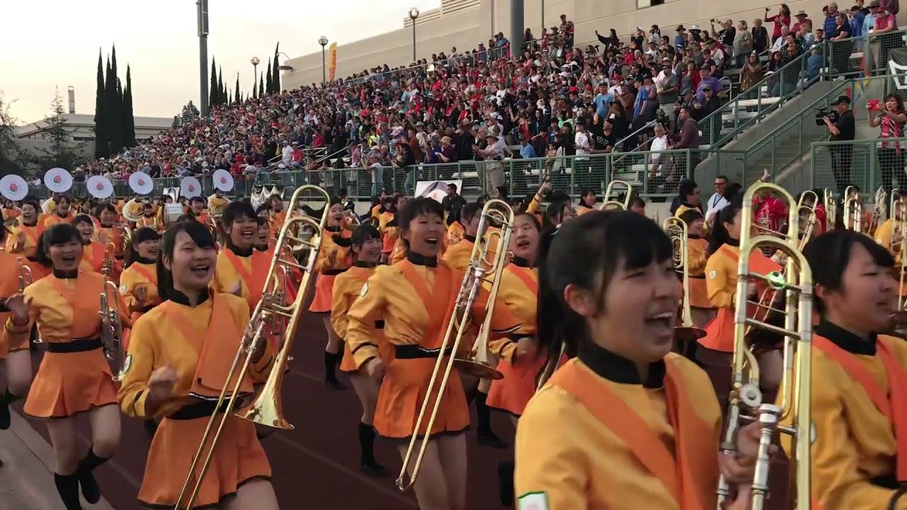 ローズ 吹奏楽 2018 京都 パレード 高校 橘 部