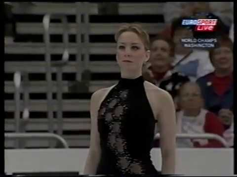 Sarah Hughes USA - 2003 World Championships SP