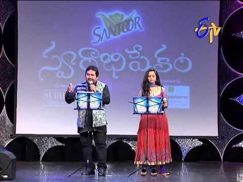 Swarabhishekam - Mano, Malavika Performance - Okkasari Cheppaleva Song - 28th September 2014