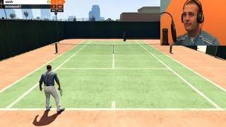 Stenjem kao Maria Sharapova!!! GTA V Tennis [Srpski Gameplay] ☆ SerbianGamesBL ☆
